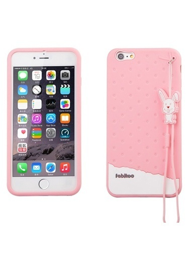 Fabitoo iPhone 6 Plus Candy Kılıf  Pembe